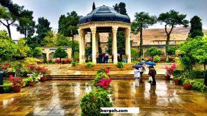 Tomb of Hafez Situs Seni Dan Budaya Iran Yang Menjadi Tempat Wisata