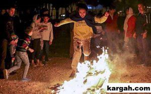 Chaharshanbe Suri Kebudayaan Iran Melompati Api